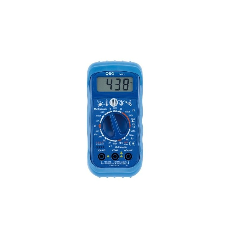 FMM5 Multisensor-Multimeter 5-in-1